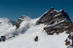 Cumbre de Jungfrau Imagenes de archivo