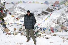 Cumbre de Kala Patthar - Nepal Fotografía de archivo