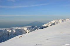 Cumbre de Kilimanjaro Imagen de archivo