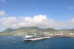 Cumbre de la celebridad del barco de cruceros imagen de archivo