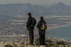 Cumbre de la montaña Fotografía de archivo