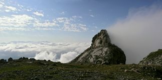 Cumbre de la montaña de Fisht Fotos de archivo
