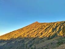 Cumbre de la montaña de Rinjani Foto de archivo