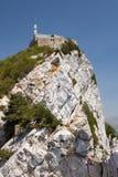 Cumbre de la roca de Gibraltar Fotos de archivo