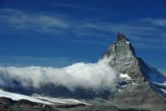 Cumbre de Matterhorn Foto de archivo libre de regalías