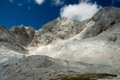 Cumbre de Triglav, Eslovenia Foto de archivo