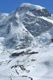 Cumbre del Breithorn Fotografía de archivo libre de regalías