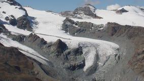 cumbre Glaciar de Gornergrat almacen de video