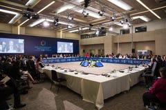 Cumbre humanitaria del mundo, Estambul, Turquía, 2016 Foto de archivo libre de regalías