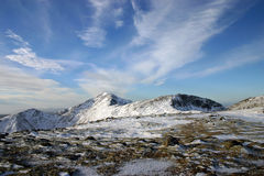 Cumbre nevada fotos de archivo libres de regalías