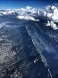 Cumbres de Monterrey Foto de Stock Royalty Free