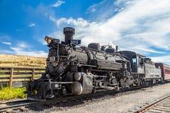 Cumbres & Toltec lokomotiv royaltyfri bild