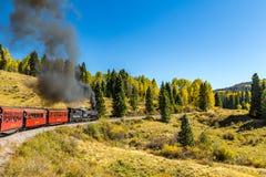 Cumbres & Toltec Railroad stock photography