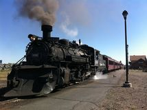 Cumbres & Toltec Scenic Railroad royalty free stock photography
