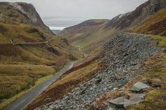Cumbria, Engeland, het UK, Europa - heuvels, weiden en leien - de herfst van 2018 royalty-vrije stock afbeelding