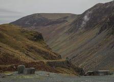Cumbria, Engeland - heuvels, weiden en leien - de herfst van 2018 royalty-vrije stock afbeelding