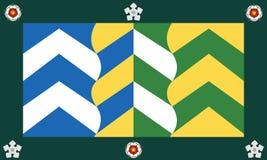 cumbria okręgu administracyjnego flaga zdjęcie royalty free