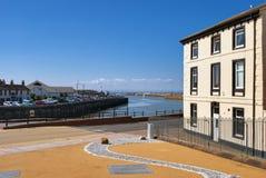 cumbria英国港口maryport 库存照片