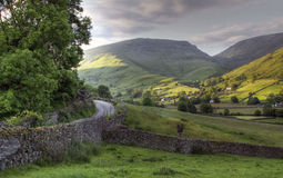 Cumbrian landscape. Looking towards Great Tongue from Easedale near Grasmere, Cumbria Stock Image