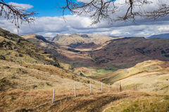 Cumbrian landscape Royalty Free Stock Photo