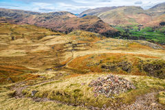 Cumbrian landscape. View from Silver Howe Cumbria English Lake District Stock Images