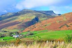 Cumbrian Mountain in Autumn.. Stock Image