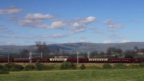 The Cumbrian Mountain Express stock video