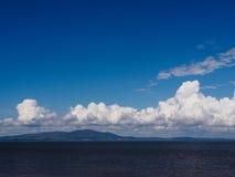 Cumbrian niebo Zdjęcie Stock