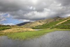 Cumbrian Tarn Fotografia Royalty Free