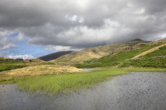 Cumbrian tarn Royalty Free Stock Photography