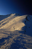 Cume da montanha Fotos de Stock