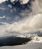 Cume da montanha Foto de Stock Royalty Free