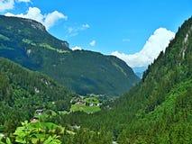 Cume-probabilidade austríaca ao vale Foto de Stock