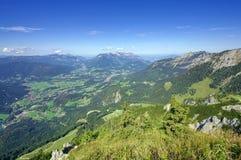 Cumes de Baviera, Alemanha Berchtesgaden Foto de Stock