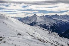 Cumes de Tuxer em Áustria, 2015 Fotografia de Stock Royalty Free