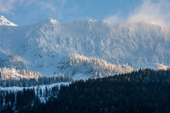 Cumes do inverno Fotos de Stock