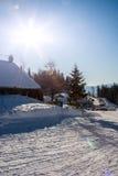 Cumes do inverno Fotos de Stock Royalty Free