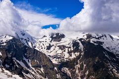 Cumes europeus panorâmicos Foto de Stock Royalty Free