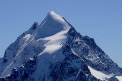 Cumes suíços: Os picos do ¼ de Bernina e de Piz Palà imagens de stock royalty free