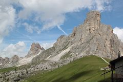 Cumes Vêneto Itália de Dolomiti Foto de Stock Royalty Free