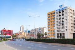 Cumhuriyet Blv, street view, Izmir, Turkey Stock Photography