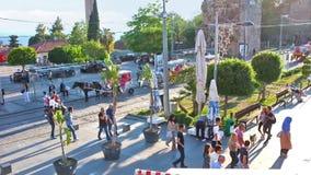 Cumhuriyet Square stock video