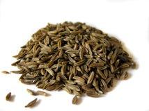 Cumin. A pile of cumin seeds stock images