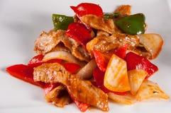 Cumin barbecue pork Stock Image