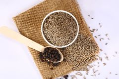 Cumin and Black Pepper, Indian Spices.  stock photos