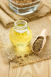 Cumin oil Stock Images