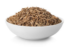 Cumin in plate Stock Photography
