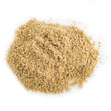 Cumin powder isolated on a white background Stock Image