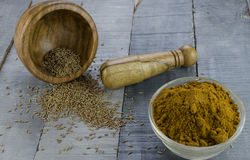 Cumin powder Royalty Free Stock Photography