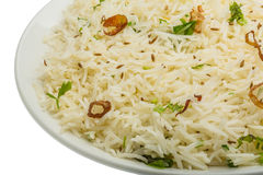 Cumin rice Royalty Free Stock Image